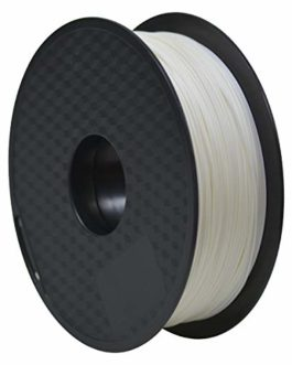 Geeetech 3d Printer ABS Filament 1.75mm White, 3d Printing Filament ABS 1KG 1 Spool
