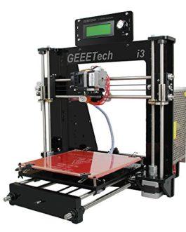 Geeetech® Prusa Acrylique I3 Pro B structure à bricoler imprimante 3D en kit DIY,Imprimante 3D de Bureau, CNC Exellent