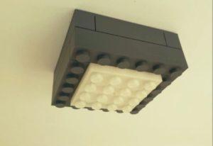Plafonnier Lego Look # 3Dprinting # 3DThursday
