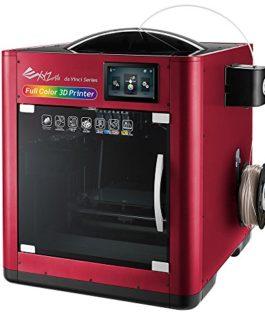 Imprimante 3D Couleur 4 cartouches (CMYK)-volume d'impression 200x150x200, Ecran couleur 5″ tactile, Autocalibration du plateau + Kit d'acessoire inclus