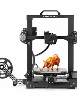 Imprimante 3D Creality CR-6 Se FDM, nivellement Automatique du lit, Assemblage en 5 Minutes, Pilote TMC2209, dissipateur Thermique et extrudeuse améliorés, 235 mm x 235 mm x 250 mm