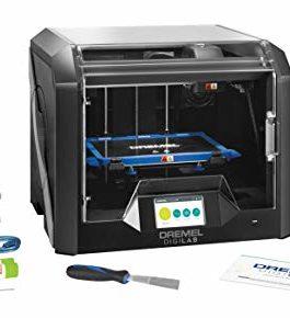 Imprimante 3D Dremel 3D45 avec écran tactile de contrôle en couleurs, Wifi, plateau chauffant, caméra HD intégrée et reconnaissance RFID des filaments pour filaments eco-ABS, PLA, PETG et Nylon