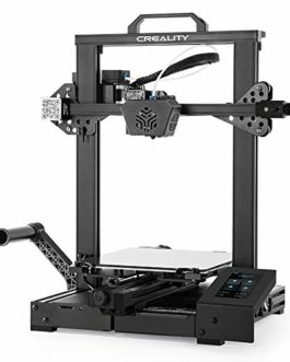 Imprimante 3D sans nivellement Creality CR-6 Se Officielle avec Carte mère silencieuse 32 Bits, nivellement Automatique…