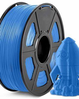 PLA Plus Filament 1.75mm, JAYO Imprimante 3D Filament PLA+, 1KG Bobine, Dimensionnelle +/- 0,02 mm, PLA+ Bleu-gris
