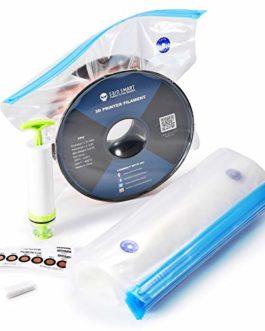 Kit de stockage de filaments pour imprimante 3D eVacuum Sacs scellés sous vide Sacs de stockage à compression sous vide…