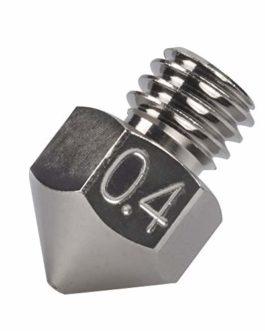 1 buse MK8 en cuivre plaqué durable et anti-adhésive haute performance 0,4 mm 0,6 mm 0,8 mm pour Creality CR-10 Hotend…