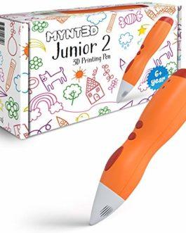 MYNT3D Stylo 3D Junior2 pour enfants [2020 mis à jour] Stylo d'impression à basse température pour enfants (non…