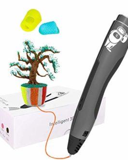 Masqudo 3D Stylo avec 2 couleurs 1,75 mm PLA Filament Impression 3D Stylo pour DIY, enfants et adultes Cadeau de Noël