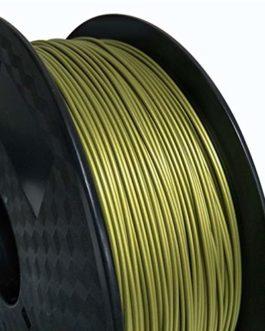 Métal PLA 1.75mm 3D Imprimante 3D Filament 500g Spool Couleur en métal Or Argent Cuivre Copper Givré Bronze Métallique…