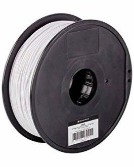 Monoprice 115835 PLA Plus+ Premium Filament 3D – Blanc – Bobine de 1 kg, 1,75 mm d'épaisseur | biodégradable | Même…