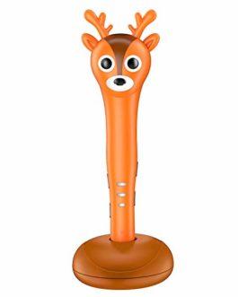 Nuly Reindeer Pen 3D, Stylo 3D Intelligent avec Message Vocal, Cadeaux de Noël et Anniversaire pour Enfants