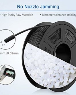 ABS Filament 1.75mm, Filament ABS Imprimante 3D, ABS Filament 1KG (2.2 lb) ABS Transparent