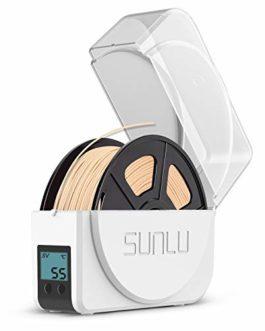 Sunlu Filament PETG pour imprimante 3D 1,75 mm Noir PETG 1,75 mm Bobine de recharge Compatible avec imprimante 3D FDM…