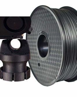 PRILINE Filament en fibre de carbone PC-1 kg 1,75 pour imprimante 3D, précision dimensionnelle +/- 0,03 mm, bobine de 1…