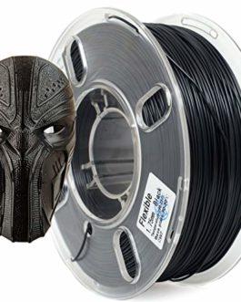 PRILINE TPU-1KG 1.75 Filament pour imprimante 3D, précision dimensionnelle +/- 0.03 mm, bobine de 1 kg, 1,75 mm, noir