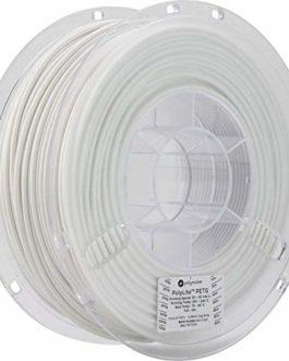 Polymaker 70634 PolyLite PETG White / 2,85 mm / 1 KG Filament PETG 2.85 mm 1 kg Blanc PolyLite