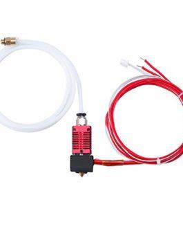 Redrex Extrudeuse Extrémité Chaude pour imprimante 3D CRALITY CR-10, CR-10S, CR-10S4, CR-10S5 Filament 1.75mm Buse 0.4mm…