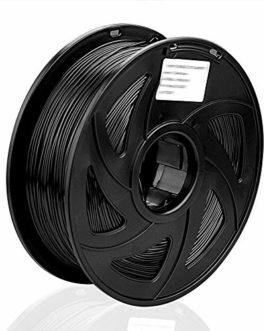 S SIENOC Filament TPU pour imprimante 3D 1,75 mm 3D Printer imprimeur TPU Filament 1KG Bobine de fil plastique (TPU Noir…