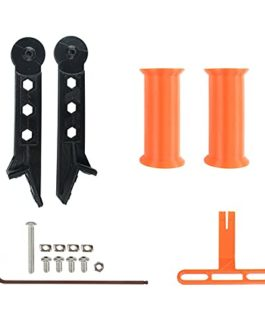 SDFLKAE Support de siège en PETG pour imprimante 3D – 2 couleurs – Utilisation facile – Support à filament réglable