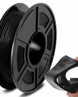 SUNLU TPU Flexible Filament 1.75mm for 3D Printer 500g/Spool Dimensional Accuracy +/-0.03mm, Black