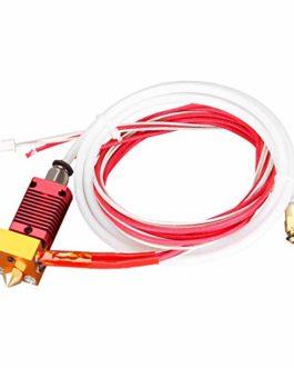 SainSmart Assembled Kit hotend tout métal 24 V 40 W pour filament 1,75 mm avec buse de 0,4 mm, compatible avec CR-10, CR…
