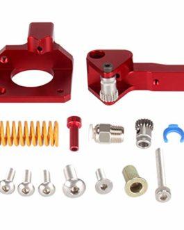 SainSmart Dual Gear Aluminium MK8 Extrudeuse Drive Feeder, Flex Filament Printing, réduction de fuite de filament, mise…