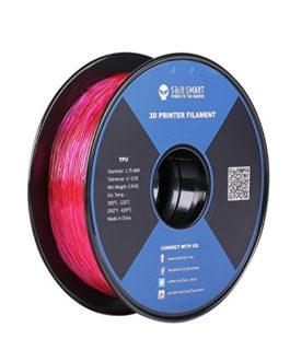 SainSmart Filament en TPU pour imprimante 3D 1,75 mm 0,8 kg De nombreuses couleurs au choix, Rosa, 1