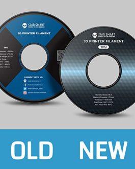 SainSmart Filament en TPU pour imprimante 3D 1,75 mm 0,8 kg De nombreuses couleurs au choix, corail, 1