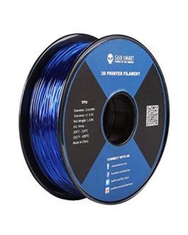 SainSmart Filament flexible en TPU – 3 mm – 1 kg – Bleu