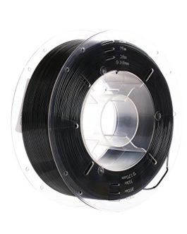 SainSmart Pro-3 Filament PETG pour imprimante 3D 1,75 mm Noir 1 kg Précision dimensionnelle +/- 0,02 mm