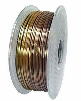 Silk Rainbow PLA 3D Imprimante Filament 1.75mm 0.25/0.5 / 1kg Filament Silky Silky Silky Matériaux d'impression 3D…
