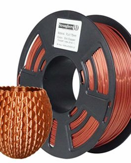 Stronghero3D Desktop FDM Imprimante 3D 1.75mm PLA Soie de Filament Cuivre 1kg (2.2 lbs) Dimension Précision +/- 0.05mm