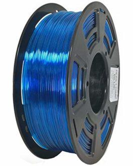 Stronghero3D bureau fdm 3d filament d'imprimante PETG bleu clair 1.75mm précision de la dimension 1kg (2.2 lbs) de…