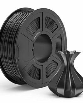 PLA Filament 1.75mm, TECBEARS Filament PLA pour Imprimante 3D, Précision Dimensionnelle +/- 0.02 mm, 1kg Spool, 1 Pack