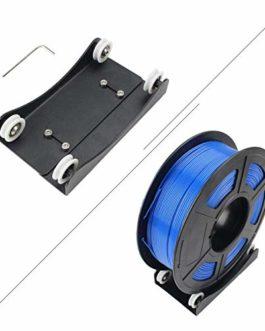 Toaiot Support de filament pour imprimante 3D Support de montage de bobine Pully lisse réglable avec roulement pour TPU…