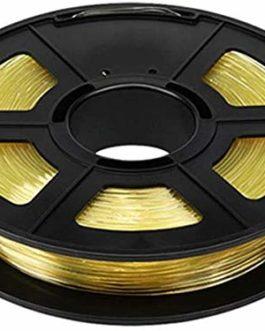 XHCP Filament d'imprimante 3D 1.75mm, modèle d'art général de Profession Jaune Transparent de PVA de matériaux d…