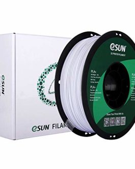 eSUN Filament PLA+ 1.75mm, Imprimante 3D Filament PLA Plus, Précision Dimensionnelle +/- 0.03mm, 1KG (2.2 LBS) Bobine…