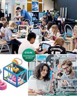 eSUN Filament PLA Métal Soie 1.75mm, Soyeux Métallisé Imprimante 3D Filament PLA, Précision Dimensionnelle +/- 0.05mm…