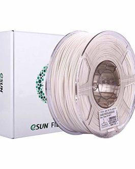 eSUN ABS Filament 1.75mm, Imprimante 3D Filament ABS, Précision Dimensionnelle +/- 0.05mm, 1KG (2.2 LBS) Bobine Filament…