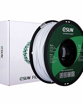 eSUN Filament PLA+ 2.85mm, Imprimante 3D Filament PLA Plus, Précision Dimensionnelle +/- 0.03mm, 1KG (2.2 LBS) Bobine…