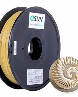 eSUN Imprimante 3D Filament PVA Soluble dans l'eau, Filament PVA 1.75mm, Précision Dimensionnelle +/- 0.05mm, 0.5KG (1.1…