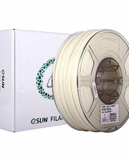 eSUN Filament ABS 2.85mm, Imprimante 3D Filament ABS, Précision Dimensionnelle +/- 0.05mm, 1KG (2.2 LBS) Bobine Filament…