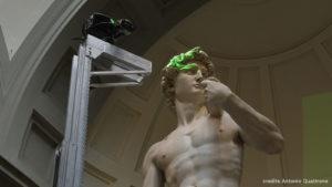 La réplique d'un chef-d'œuvre : Le David de Michel-Ange reçoit un double imprimé en 3D pour l'Expo 2020