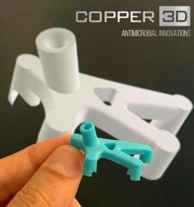 Copper3D lance une nouvelle résine d'impression 3D antivirale et biocompatible