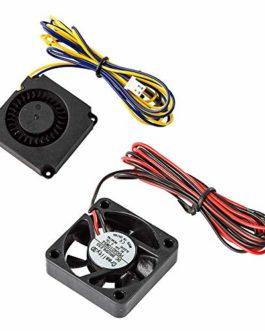 3D d'origine Aérateur 4010 40x40x10mm 24V DC ventilateur et 24V circulaire du ventilateur pour Creality Ender 3 et Ender…