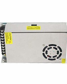 ANYCUBIC 12V 25A DC Alimentation à découpage universelle pour LED, caméra, radio, ordinateur et imprimante 3D