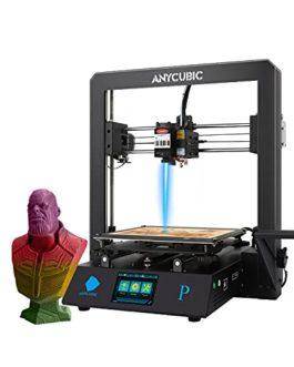 ANYCUBIC Mega Pro Imprimante 3D 2-en-1 avec Gravure Laser, TMC2208 Rend l'impression Plus Silencieuse, Fonctione avec…