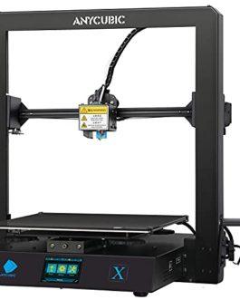 ANYCUBIC Imprimante 3D Mega Zero 2.0 avec Lit d'impression Magnétique, Chauffage Rapide, Mise à Jour Version Auxiliaire…