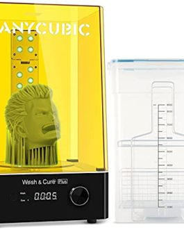 ANYCUBIC Wash and Cure Plus Machine, 2 en 1 machine Wash & Cure pour Modèles en Résine d'Imprimante 3D,pour Saturn…