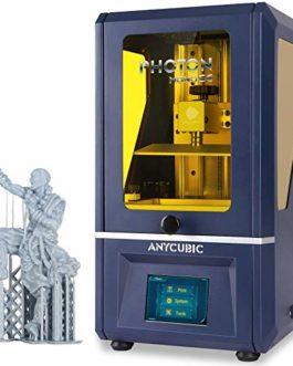 Anycubic Imprimante 3D, Photon Mono SE 2K Écran LCD Monochrome Cadre en métal Impression Rapide prenant en Charge la…